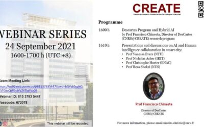[WEBINAR] CREATE Webinar Series 24 September